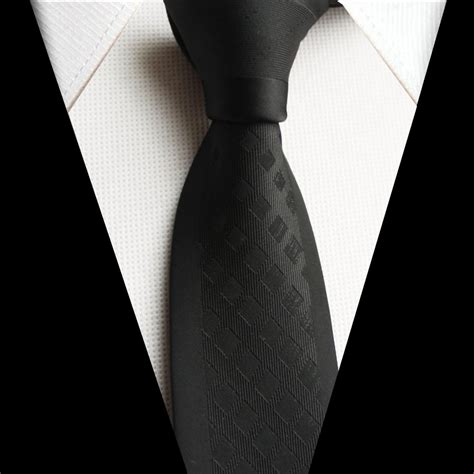 black tie 2016 latest fashion tie 5 5cm skinny necktie high qualty