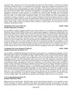 warrant officer resume examples best free home