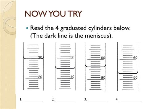 Reading A Meniscus Worksheet by Reading A Graduated Cylinder Worksheet Wiildcreative