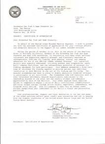 appointment letter usmc 28 exle usmc appointment letter 8 best images of