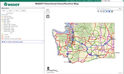 wsdot  digital maps and data
