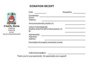 tax deductible donation form template best photos of donation disclaimer template sle
