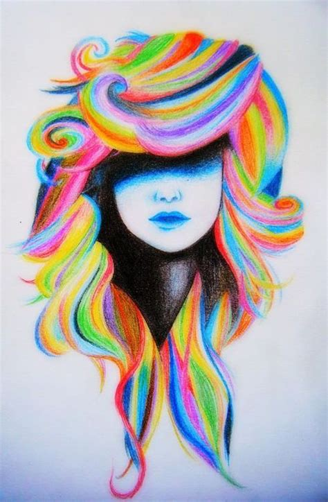 plastic rainbow hairthings rainbow hair via tumblr image 1991912 by marky on