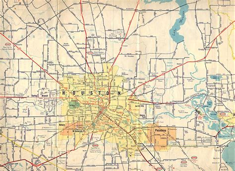 map of humble texas texasfreeway gt houston gt historical information gt road maps