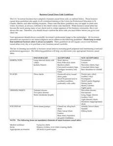 Casual Dress Code Policy Template by Casual Dress Code Policy Dress Yp