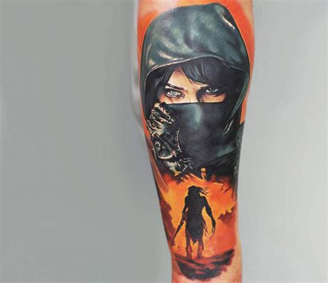 warrior tattoo by levgen tattoo photo no 13579