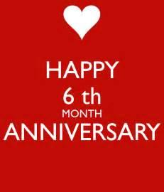 happy 6 th month anniversary poster hkusumawardana keep calm o matic