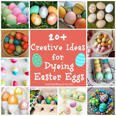 easter egg dye ideas dyeing easter eggs 20 creative ideas