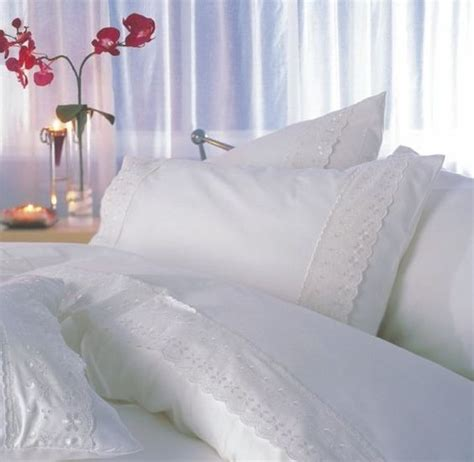 broderie anglaise bed linen broderie anglaise duvet cover set lovely bed linen
