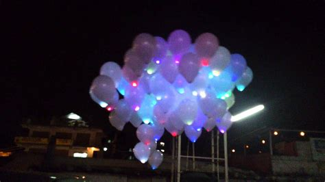 Led light balloon youtube
