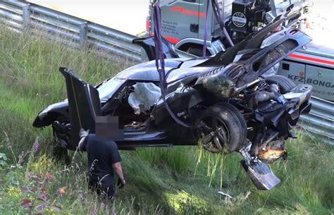 koenigsegg one 1 crash koenigsegg confirms nurburgring crash due to abs failure
