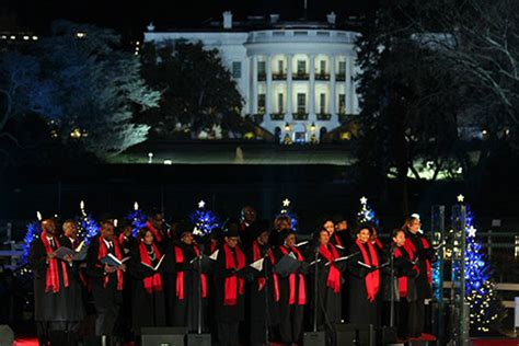 national christmas tree lighting choir