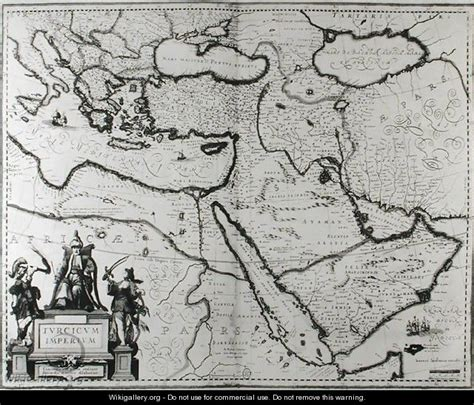 Map Of The Ottoman Empire Joannes Jansson Wikigallery Ottoman Empire At Its Largest