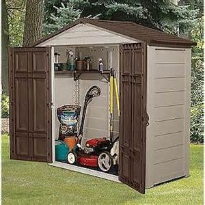 lawn mower small storage shed 3x7 5 my stuff