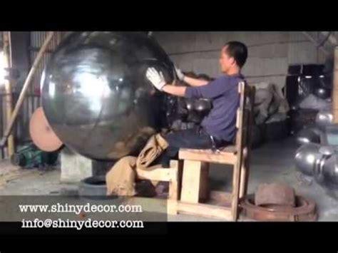 large balls polishing large stainless steel