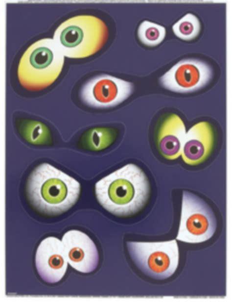 Imagenes De Ojos Halloween   pegatinas para ventanas con forma de ojos halloween