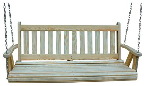 mission porch swing mission amish heavy duty 800lb 5 porch swing porch