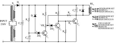 Saklar Genset Otomatis gambar membuat rangkaian sensor cahaya sederhana