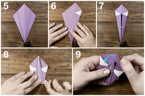 simple swan origami easy origami swan tutorial