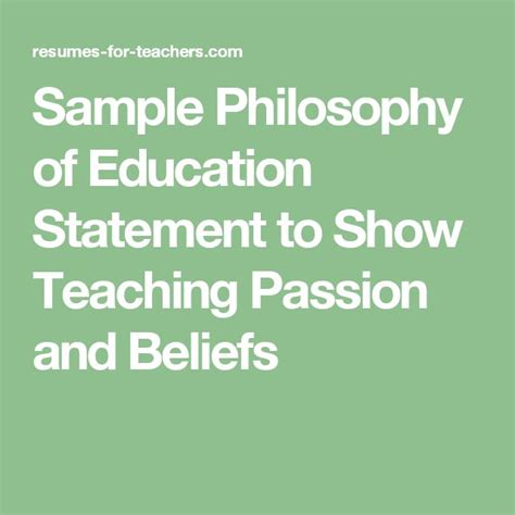 Beliefs About Teaching And Learning Essay by Best 25 Philosophy Of Education Ideas On