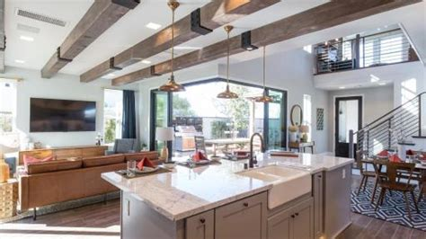 farmhouse style floor ls the responsive home project completes construction on the