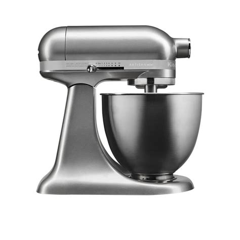 Kitchen Aid Silver by Kitchenaid Artisan Mini Stand Mixer Contour Silver Fast