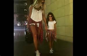 Like mother like daughter maya diab and her mini me al bawaba