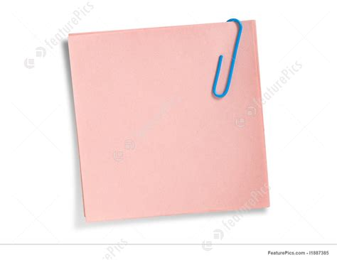 pink wallpaper note 5 templates pink note paper with clip stock image