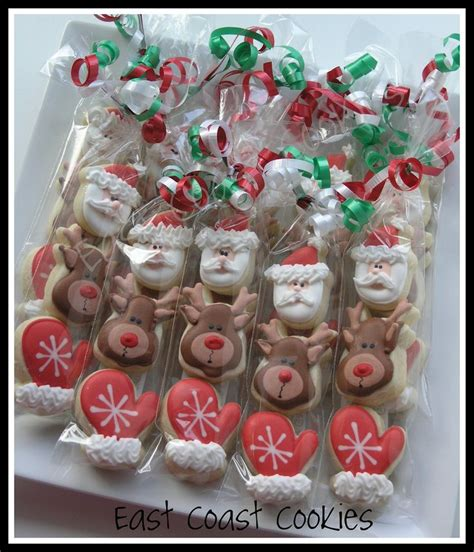 mini 3 pack christmas cookies christmas goodies pinterest