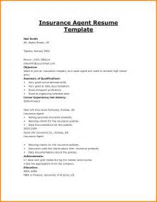 Sample Resume Insurance Agent 12 Insurance Agent Resume Sample Budget Template