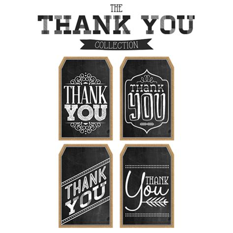 free printable thank you chalkboard tags 無料ダウンロード