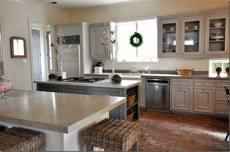 The Hippo Kitchen by Gray White Cabinets Kitchen