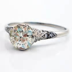 platinum vintage wedding rings platinum antique edwardian european cut filigree