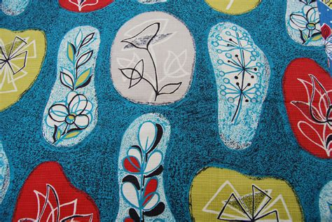 Vintage Inspired Upholstery Fabric by Vintage Inspired Fabric Printing Seaside