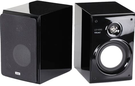 teac ls h265 2 way 5 25 quot reference bookshelf speakers