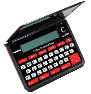 collins crossword solver by franklin electronics shop