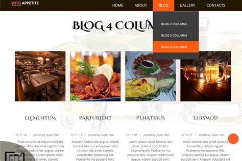 joomla blog layout columns joomla blog creating as blog