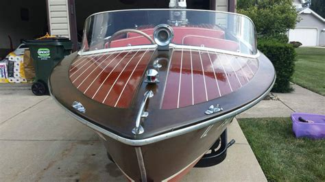 antique carver boats carver boats special runabout wood 1953 for sale for