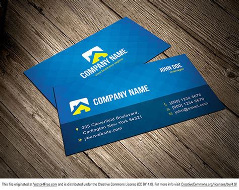 template business card ai free free vector business card template