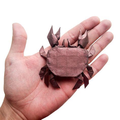 Origami Crab - this week in origami ratatouille edition