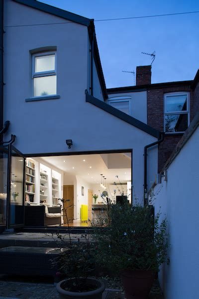 manchester victorian terraced house side extension