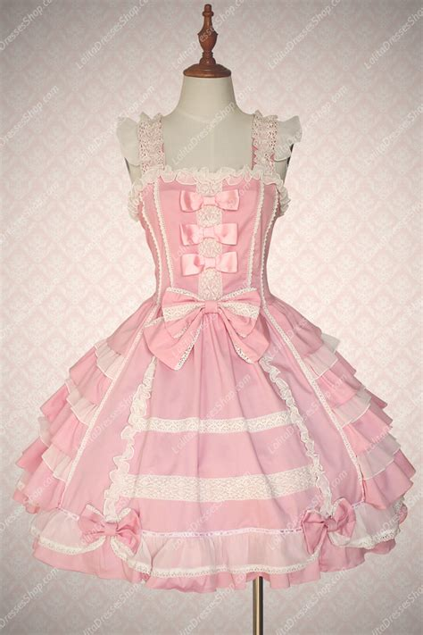 Dress Dress Tile Hitam Pink Black cheap pink cotton square neck sleeveless sweet dress sale at dresses shop