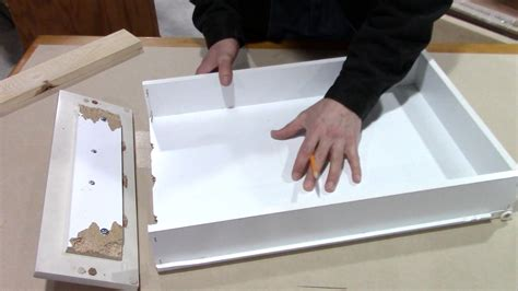How To Fix Kitchen Drawer how to fix a broken kitchen drawer bathroom pull out