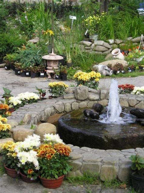 yard features exterior classy front yard fountain for extravagant house