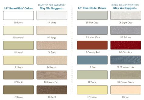 lp smart siding colors lp smart siding colors gallery