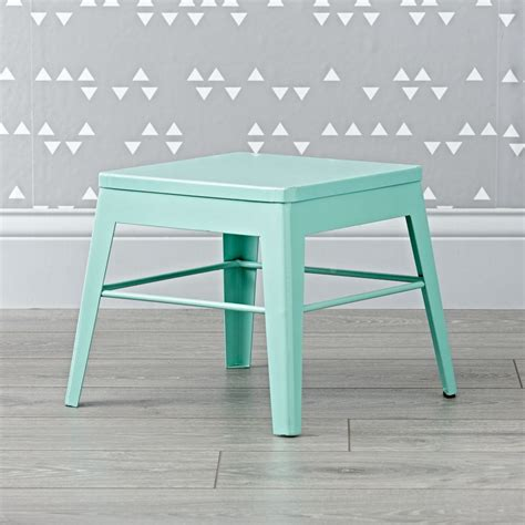squared up step stool mint the land of nod