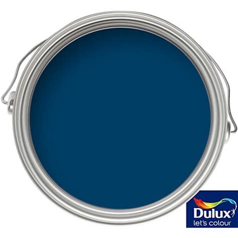 dulux weathershield oxford blue exterior gloss paint 750ml