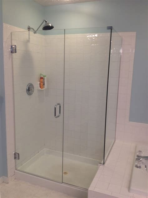 tile decoration frameless shower doors installation cost combine with