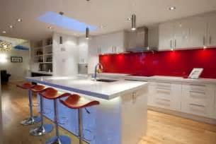Yellow Splashback Kitchen - kitchen splash back areas that offer something more
