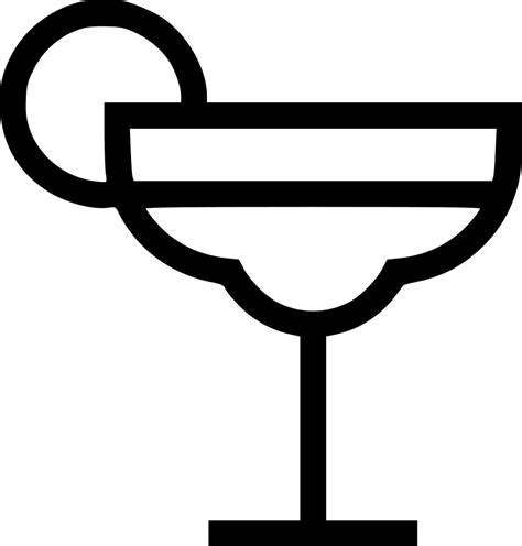 cocktail svg marguerita booze cocktail tequila svg png icon